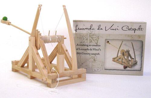 Katapult Leonardo Da Vinci Baukasten Funktionsmodell aus Holz