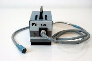 Lampe / source de lumière professionnelle fibre optique Heim FI L20 avec sonde