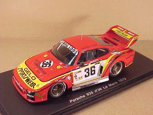 Spark  S4165 1 43 Resin Porsche 935, 1979 LeMans, Georg Loos - Gelo Sportswear
