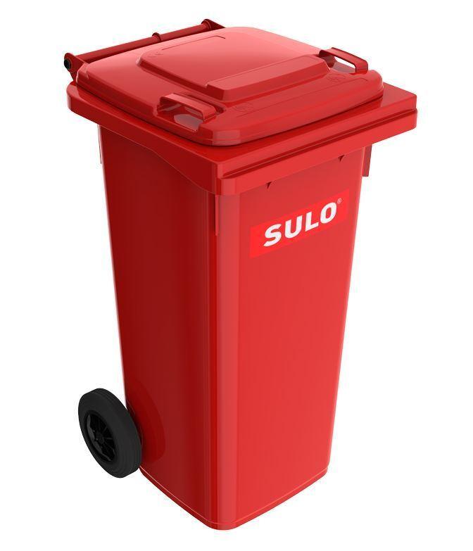 SULO 120L MGB Mülltonne NEU - grau, gelb, blau, grün, grün, grün, braun, rot, Orange f57abc