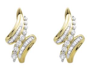 14k-Yellow-Gold-Chandelier-Drop-Dangle-Round-Cut-Diamond-Hoop-Earrings-1-2-ct