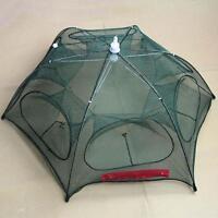 95x95 Heavy Duty 12 Holes Umbrella Foldable Fishing Trap Cast Net Shrimp Minnow