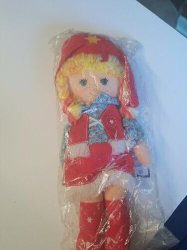 """Details about  /Knickerbocker Cowpokes Doll Plush 11/"""" Vintage 1981 Cowgirl"""