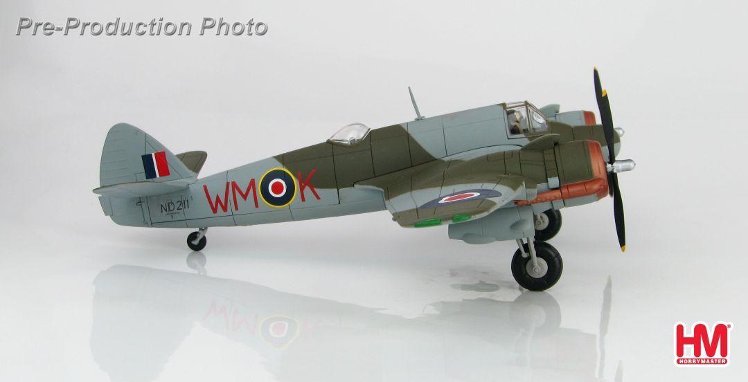 Hobby Master HA2317, Bristol Beaufighter Mk. VIF, Sqn Ldr M.J. Mansfeld et f