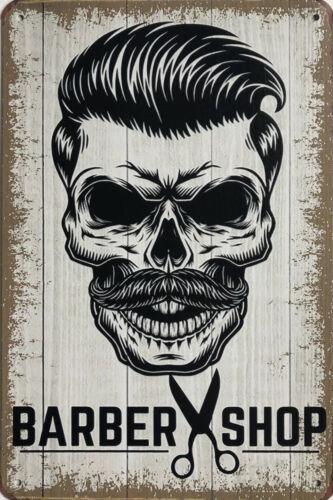 Details about  /Barber Shop Garage Rustic Vintage Metal Tin Signs Man Cave Shed /& Bar Sign