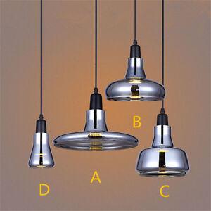 Image Is Loading Modern Led Ceiling Lamp Vintage Gl Pendant Light