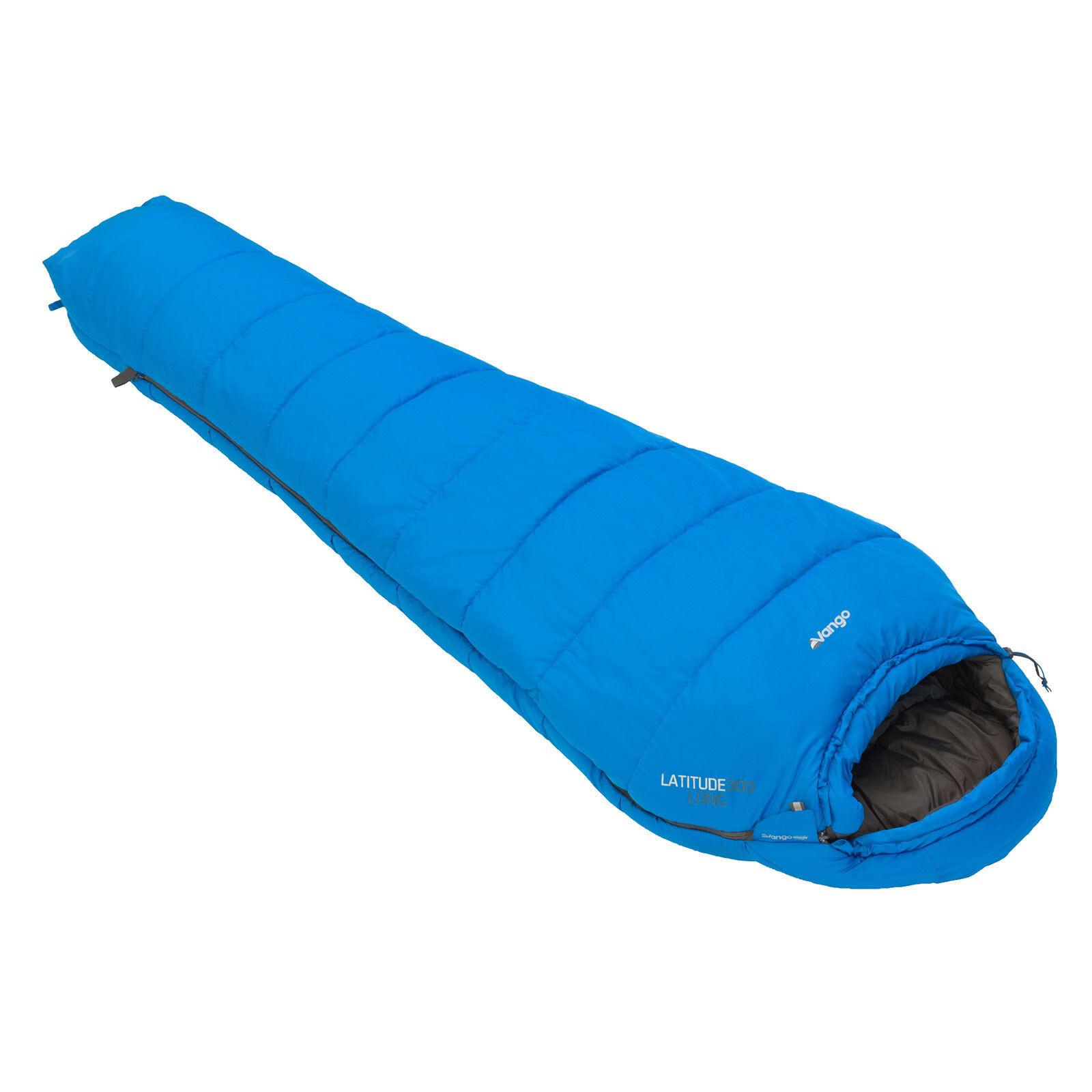 Vango Latitude 300 largo saco de Dormir Azul Imperial