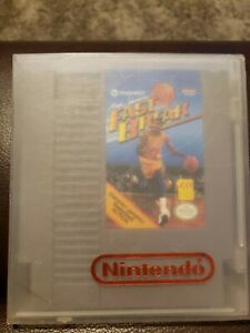 Magic Johnson's Fast Break (Nintendo NES) Game Tested, W/ Protective Case!