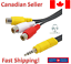 3-5mm-Mini-AV-Aux-Male-to-3RCA-Female-Audio-Video-Cable-Stereo-Adapter-6-inch thumbnail 1