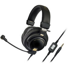 """Audio-Technica ATH-PG1 Closed-Back Premium Gaming Headset w/ 6"""" Boom Microphone"""