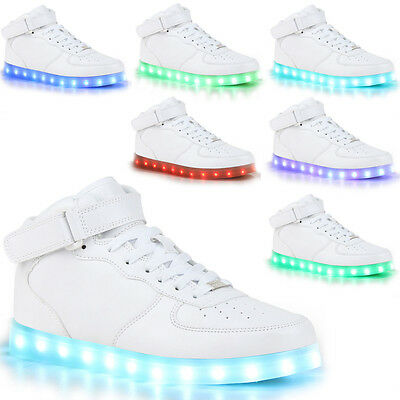Unisex LED Farbwechsel Blinkschuhe Turnschuhe Licht Schuhe / Sneaker Leuchtende