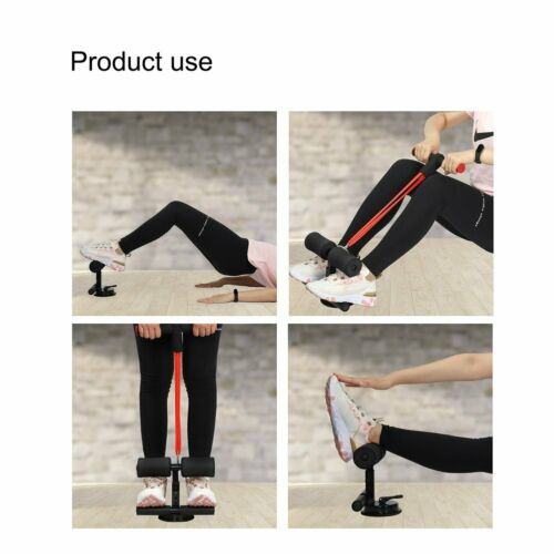 Sit Up Bar Assistant Gym Exercise Workout Home Abdominal Fitness Equipment US