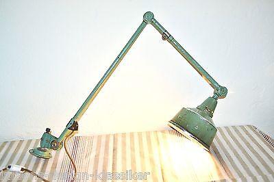 Midgard Wandlampe Gelenkarm Lampe Werkstattlampe Industrie Design Tischlampe 209