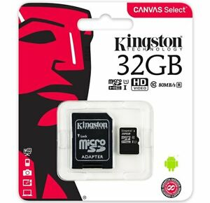 32GB Kingston Micro SD 80MB/s Memory Card For Nokia 5 Mobile Phone