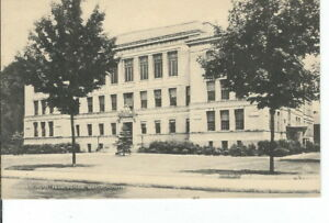 CC-337-MA-Framingham-High-School-Divided-Back-Postcard-Massachusetts