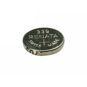 #339 (SR614SW) Renata Mercury Free Watch Batteries - Strip of 10