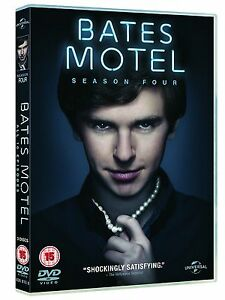 Bates Motel Complete Series 4 DVD All Episodes Fourth Season Original UK Rel NEW - <span itemprop=availableAtOrFrom>Barking, United Kingdom</span> - Returns accepted Most purchases from business sellers are protected by the Consumer Contract Regulations 2013 which give you the right to cancel the purchase within 14 days after the day  - Barking, United Kingdom