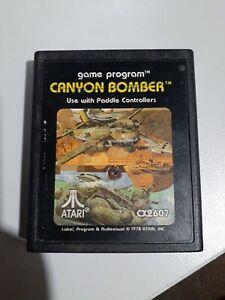 Canyon Bomber (Atari 2600, 1978) *BUY 2 GET 1 FREE +FREE SHIPPING*