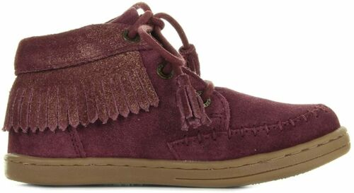 Marron Clair Scarpe Sneakers Bambina KICKERS TALULAH Bordeaux