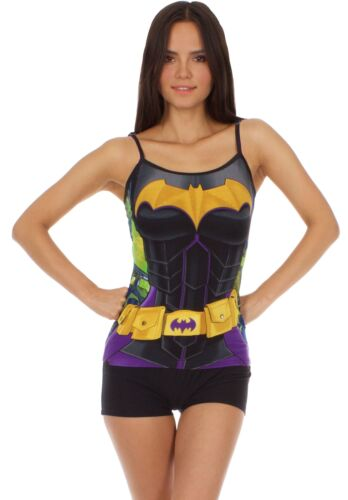 DC Comics Batgirl Anatomical Womens Cami Set