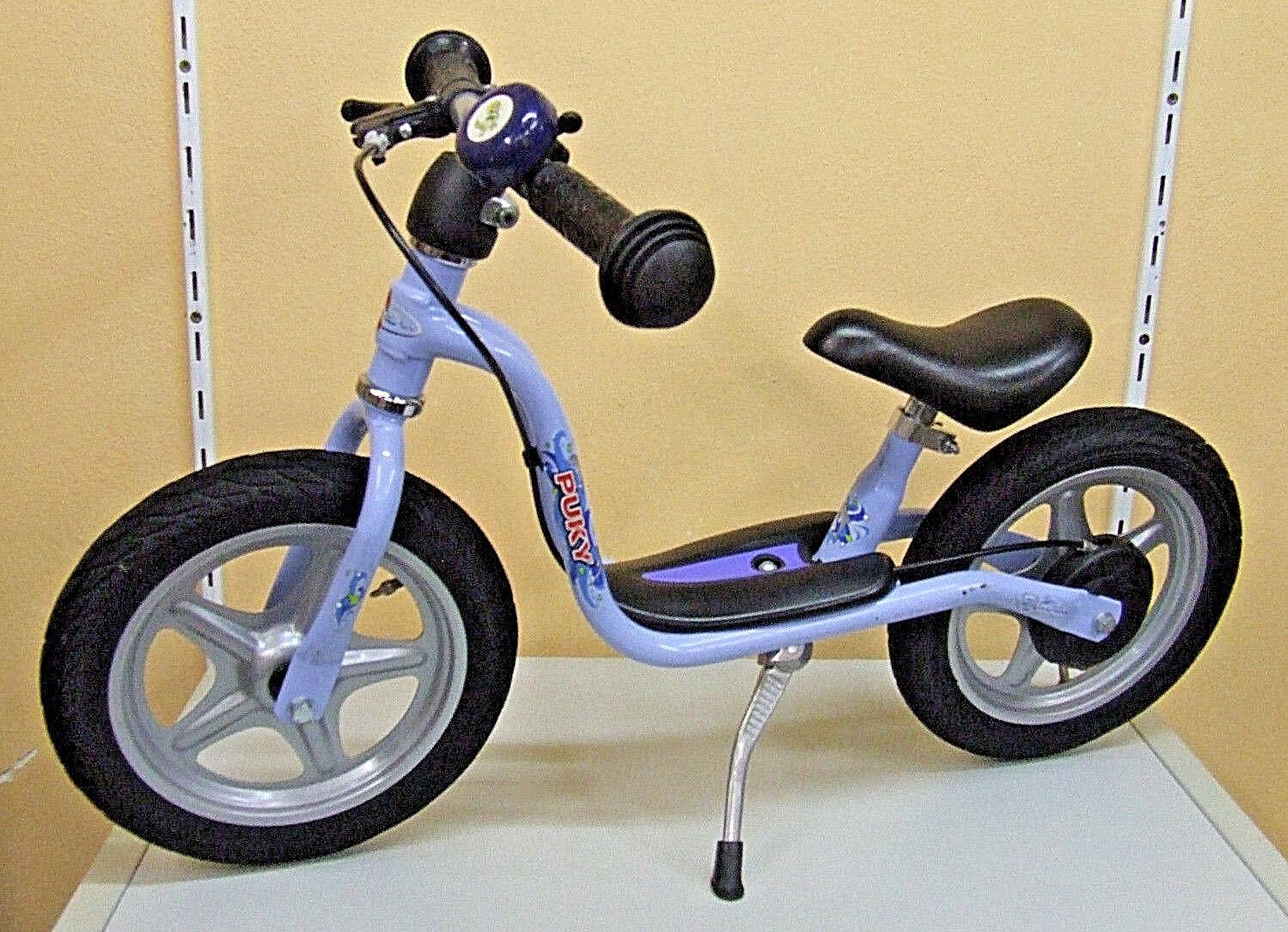Ab 3 Jahre Puky LR 1L Br Laufrad gebraucht Bremse blau Seitenständer Lufträder