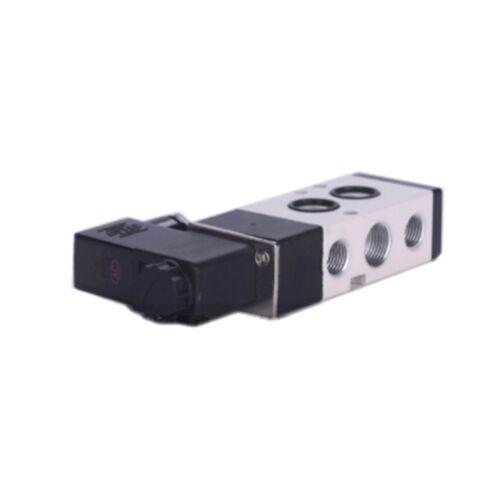 Válvula de Solenoide 4M310-08 5 puertos 2 posición doble aire neumático AC 220 V 1PC