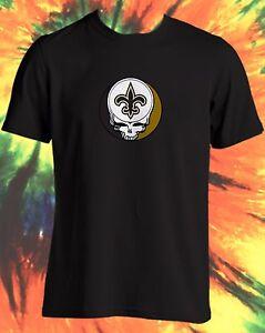 8792bcb51 NFL NEW ORLEANS SAINTS STEAL YOUR FACE GRATEFUL DEAD JERRY GARCIA ...