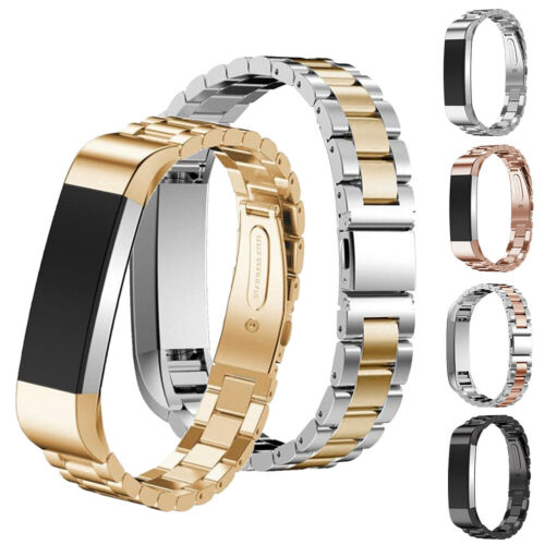 For Fitbit Alta//Fitbit Alta HR Band Small Large Stainless Steel Metal Bracelet