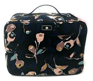 Kate-Spade-Travel-Cosmetic-Dawn-Paper-Black-Nylon-Bag-WLRU5563-139
