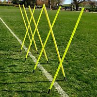 Spring Loaded Slalom Poles 6ft Agility/speed Training Football/rugby