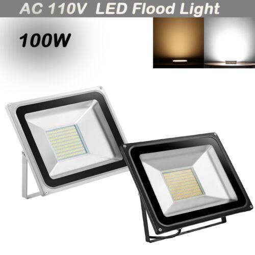 10W-1000W LED SMD Flood Light AC 110V Outdoor Spotlights Garden Landscape Lamp