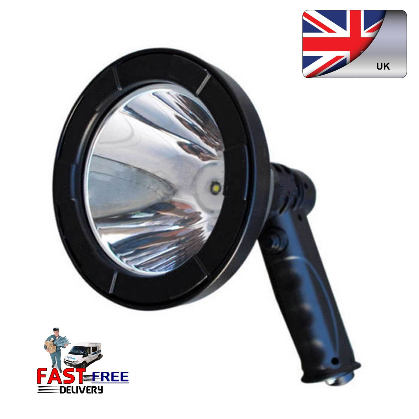 60W T6 LED Buffalo River Handheld Hunting SpotLight Lamp Lamping Foxing Shooting