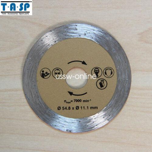 3x Diamond Mini Circular Saw Blade 54.8x11.1mm  Diamond cutting disc