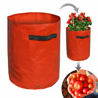 Tomato Grow Bag Planter Tub Vegetables Herbs Flowers Patio Garden Indoor/outdoor