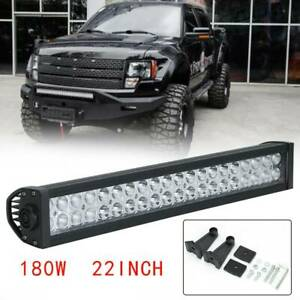 LED-Work-Light-Bar-Flood-Spot-Lights-Driving-Lamp-Offroad-Car-Truck-SUV-24V-12V