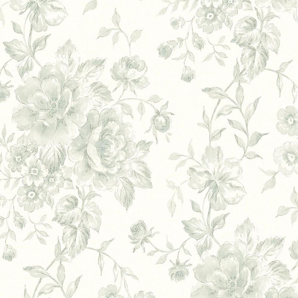 CG28817 - Galerie Wallpaper Floral Green Galerie wallpaper