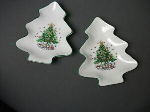 2-Salem-Natale-Vigilia-Caramelle-Dado-Piatti-Albero-amp-Treno-Porcellana-6-034