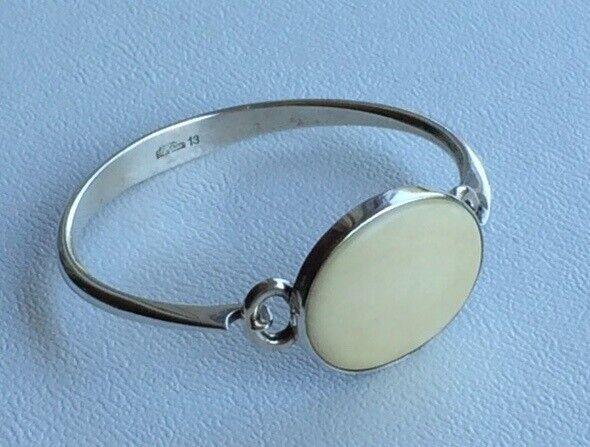 Armring, sølv, N.E.From