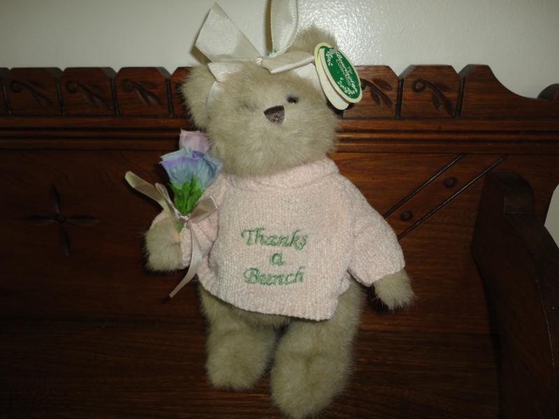 Bearington Gracie Grateful Bear 10  Item 1715 with tags