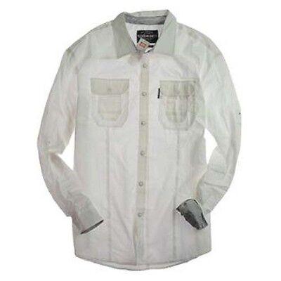 L Bleach White EK32179 Ecko Motivation Woven Shirt