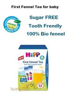 Hipp-Baby-100-organic-Fennel-Tea-x15-Healthy-drink-for-babies-Sugar-FREE
