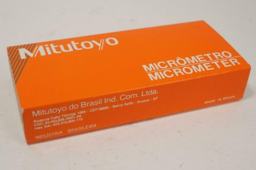 """0.001/"""" Micrometer  FREE Shipping 5 New Mitutoyo Toolmakers Machinists 0-1/"""""""