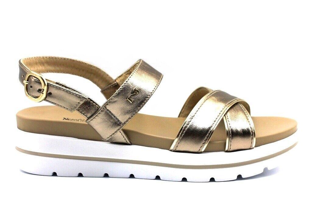 negro Giardini P908213D Bronzo Calzature Sandali Bassi zapatos mujer