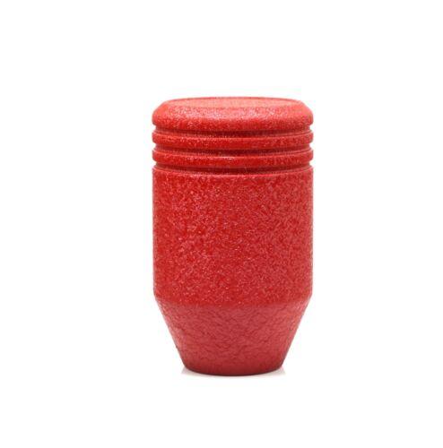 SHIFTEVO WRINKLE RED PISTON 750 GRAM WEIGHTED HEAVY SHIFT KNOB 10x1.25mm