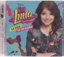 SEALED - Soy Luna (2 CD'S) La Vida Es Un Sueno - BRAND NEW
