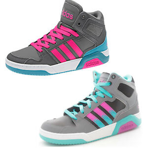 Image is loading Adidas-bb9tis-Mid-K-bb9958-f98508-Tall-Sneakers- a8c664f3328