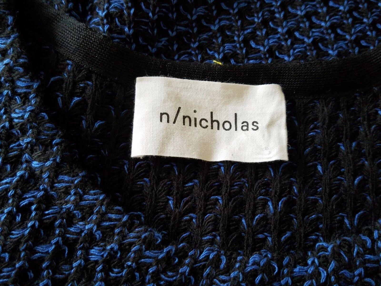 N NICHOLAS WOMEN VEST TOP SLEEVELESS KNIT MULTI-COLOR SIZE US US US 8 AUS 12 ee3816