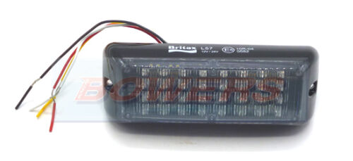 Britax L57.00 Doble Voltaje LED luz de advertencia color ámbar intermitente superficie de recuperación