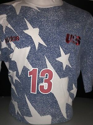 Retro Extra Large ADIDAS USA AWAY SHIRT VINTAGE 1994 WORLD CUP Jones 13 | eBay