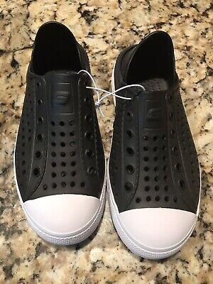 Skechers Sport Guzman Steps Aqua Surge Kids Shoes Slip On Black 91995LS Water